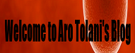 Welcome to Aro Tolani's Blog