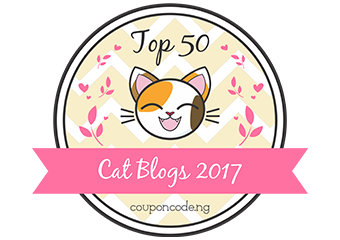 Banners for Top 50 Cat Blogs 2017