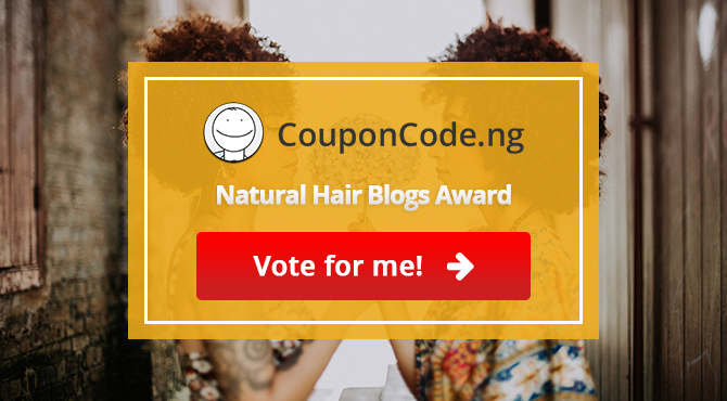 Natural Hair Blogs Award