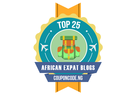 Banners for Top 25 African Expat Blogs