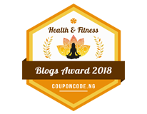 Banners for Health and Fitness blogs Award