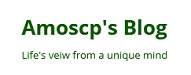 Amoscp's Blog