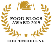 Banners for Food Blogs Award 2019