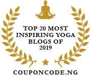 Banners for Top20 Most Inspiring Yoga Blogs of 2019