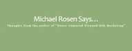 Fundraising Blogs michaelrosensays