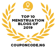 Banners for Top 10 Menstruation Blogs of 2019
